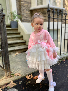 Bella PINK Girls Exclusive puffball Dress
