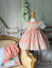 Load image into Gallery viewer, Peaches Girls Dress