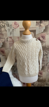 Load image into Gallery viewer, Archie Boys Cable Knit Jumper Set