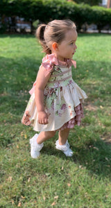 Grace Girls Ruffle Dress