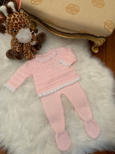 Alison Girls Knitted Set
