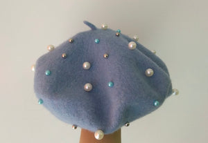 Wool Girls Beret Hats
