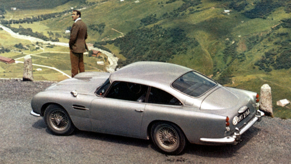 What to wear behind the wheel of a DB5