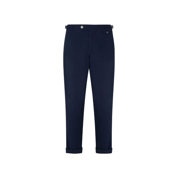 Navy Twill Travel Cruiser Trousers