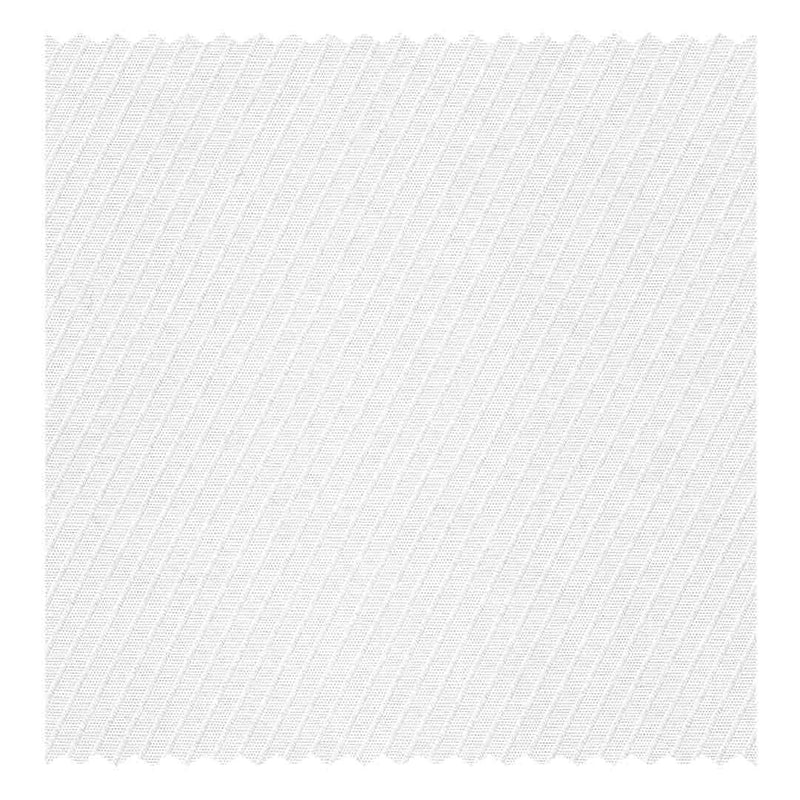 White Diagonal 2.5mm Satin Stripe Poplin (2 Fold 100's)