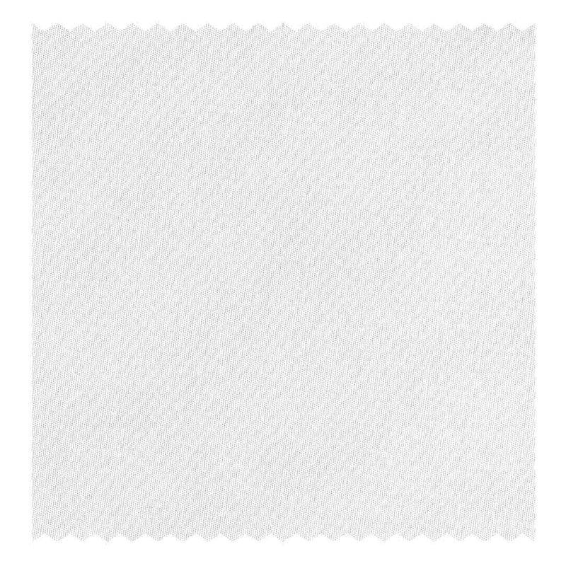 White 5mm Satin Tramline-Stripe Poplin (2 Fold 100's)