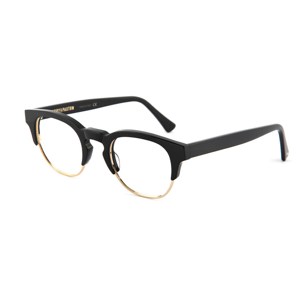 Piano Black Ronnie Optical Frames