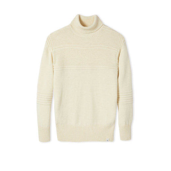 Cream Avon Polo Neck
