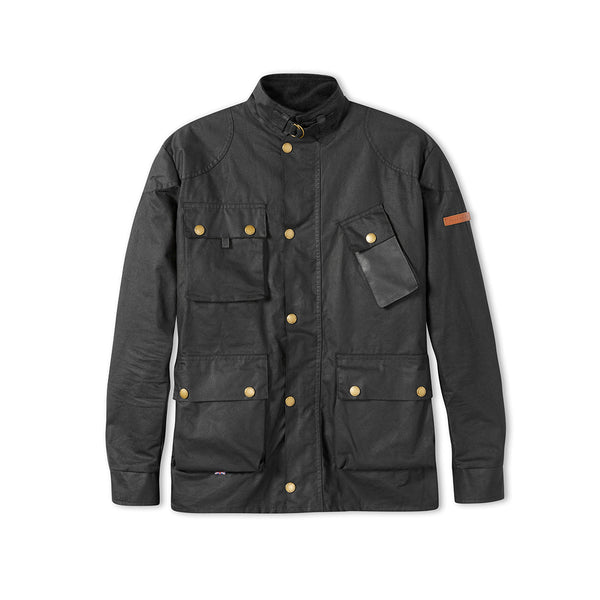 Gunmetal Baxter Patch Jacket