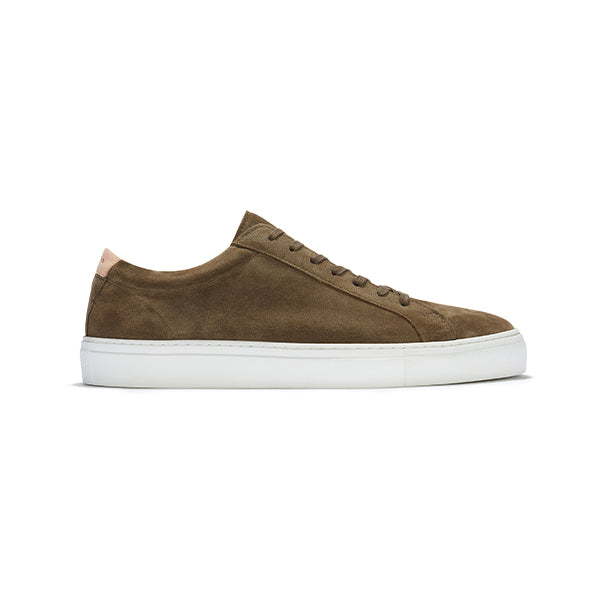 Olive Suede Series 1 Sneakers