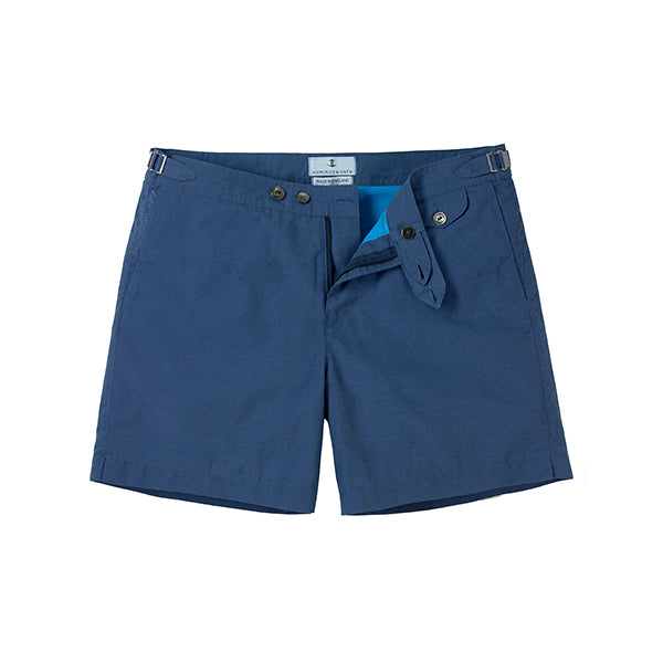Sharkfin Blue Clipper Swimshorts