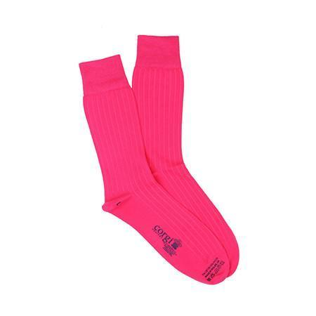 Pink Lightweight Cotton Socks