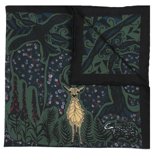 Enchanted Forest Stag - Green