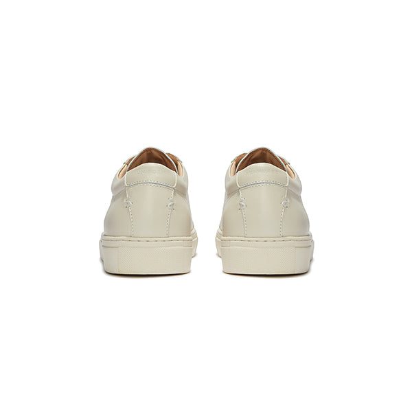 Triple Ecru Leather Series 1 Sneakers