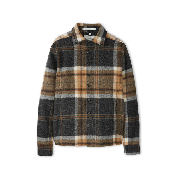 Barney Wool Blanket Shirt