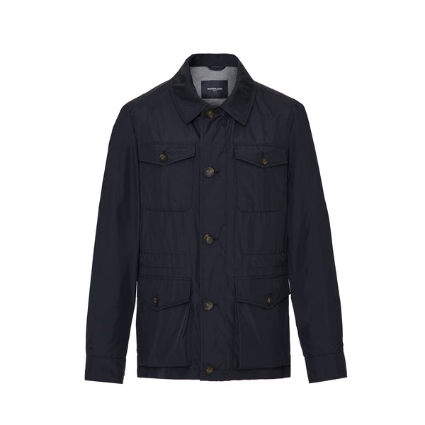 Navy Safari Jacket