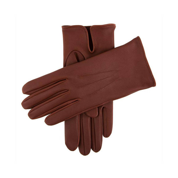 English Tan Milton Unlined Leather Gloves