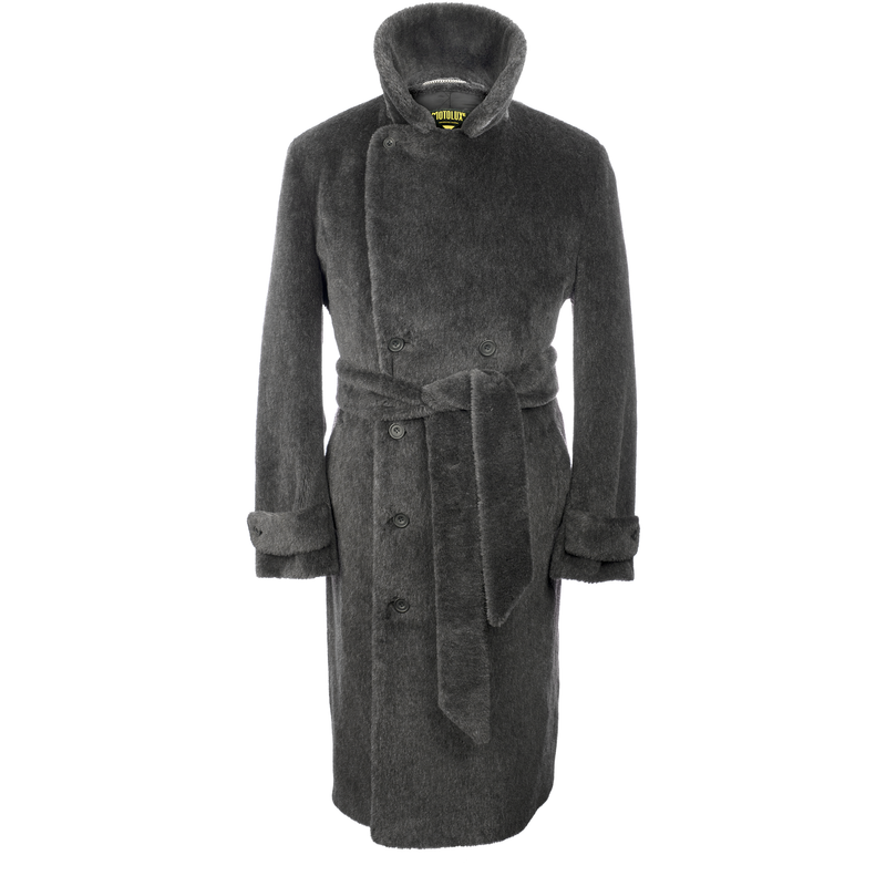 Motoluxe Teddy Bear Coat | Mason & Sons -5