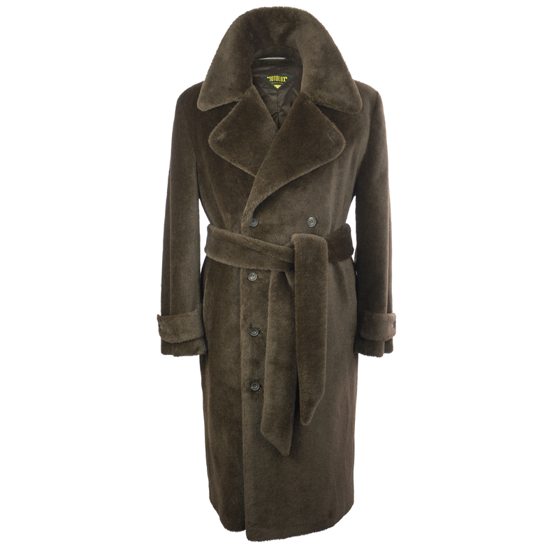 Motoluxe Teddy Bear Coat | Mason & Sons -2