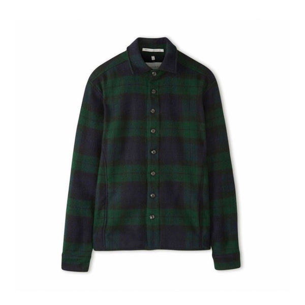Blackwatch Wool Blanket Shirt