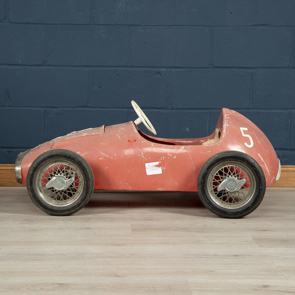 A Rare Pedal Car Made By Pines, Italy c1964