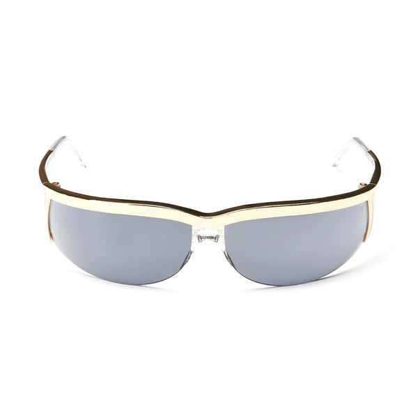 Rossano Gold Sunglasses with Gauguin Grey