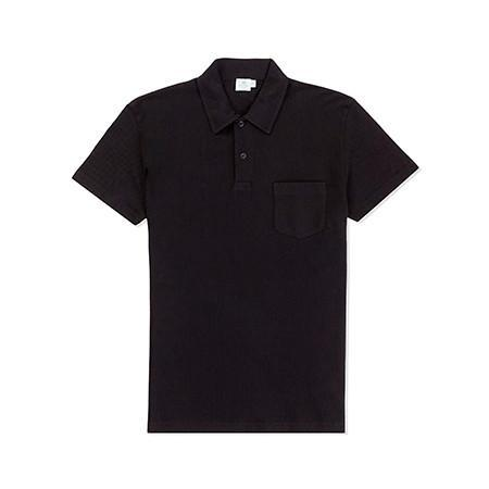 Black Riviera Polo Shirt