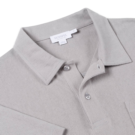 Light Grey Riviera Polo Shirt