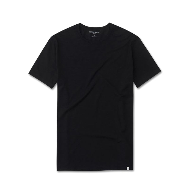 Basel Black Short Sleeve T-Shirt