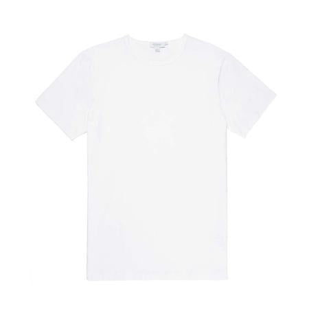 White Stretch Cotton T-Shirt