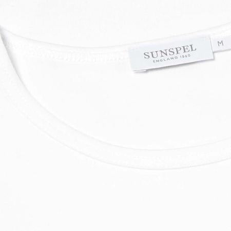 White Superfine Cotton T-Shirt