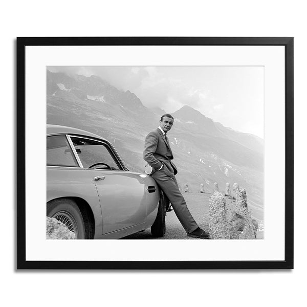 Connery and his Aston Martin