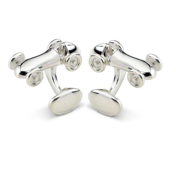 Sterling Silver Vintage Car Cufflinks