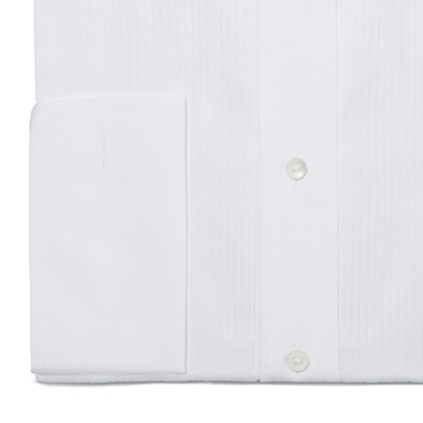 White Double Cuff Dress Shirt