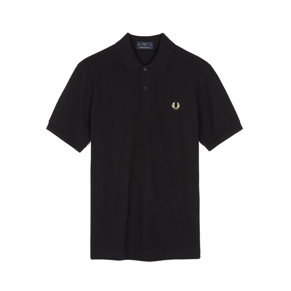 Black & Champagne M3 Polo Shirt