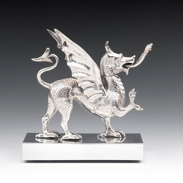 Sterling Silver Dragon Lighter c.1902