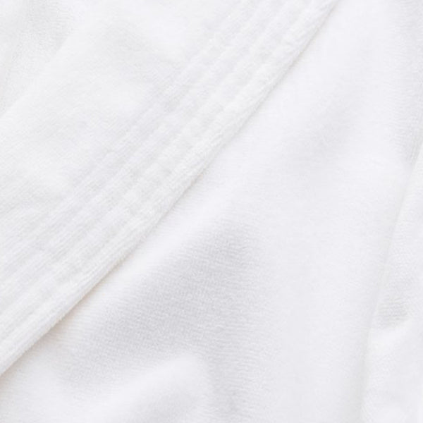 Triton 10 White Cotton Velour Towelling Gown