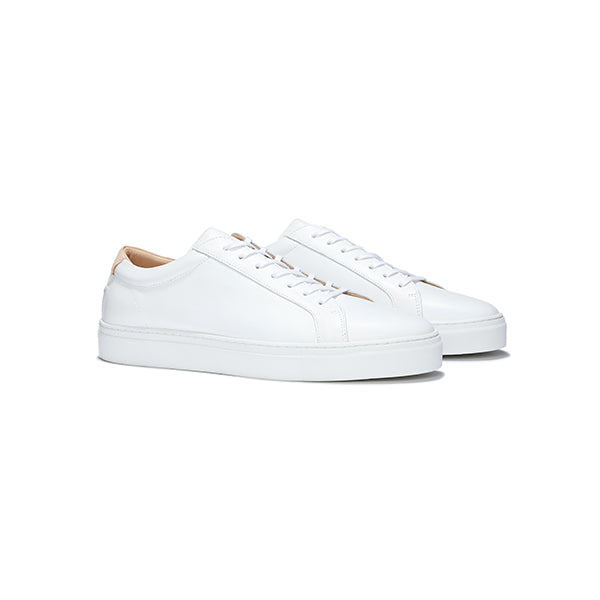 White Leather Series 1 Sneakers
