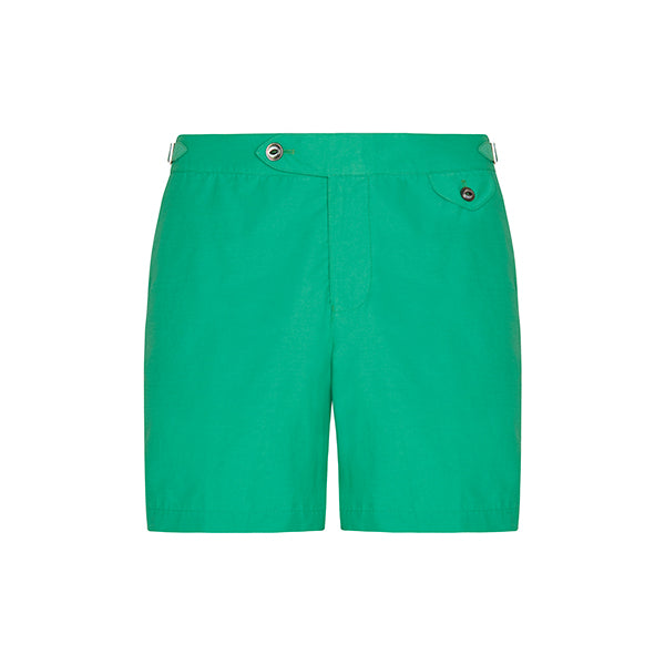 Green Clipper Swim Shorts