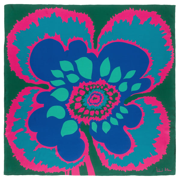 Malachite Elsa Silk Scarf
