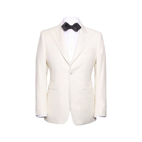 Ecru Peak Lapel Dinner Jacket