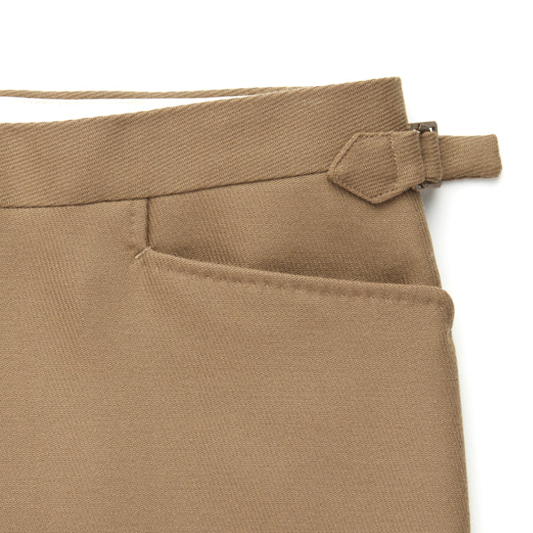 Fawn Cavalry Twill Trousers