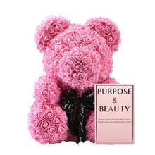 Load image into Gallery viewer, Floral Teddy Bear Gift Set