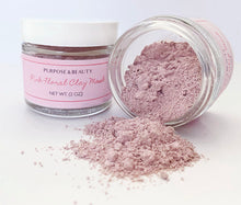 Load image into Gallery viewer, Pink Floral Clay Mask- NEW!