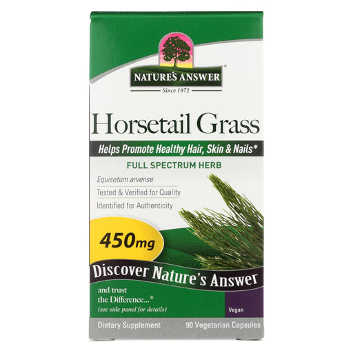 Nature's Answer - Horsetail Grass - 90 Capsules