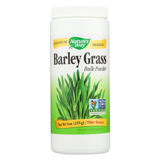 Nature's Way - Barley Grass - Bulk Powder - 9 Oz.