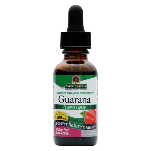 Nature's Answer - Guarana Seed - 1 Fl Oz
