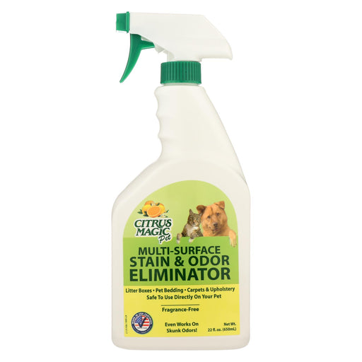 Citrus Magic Pet Odor Eliminator - Trigger Spray - 22 Fl Oz