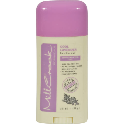 Mill Creek Deodorant Stick Cool Lavender - 2.5 Oz