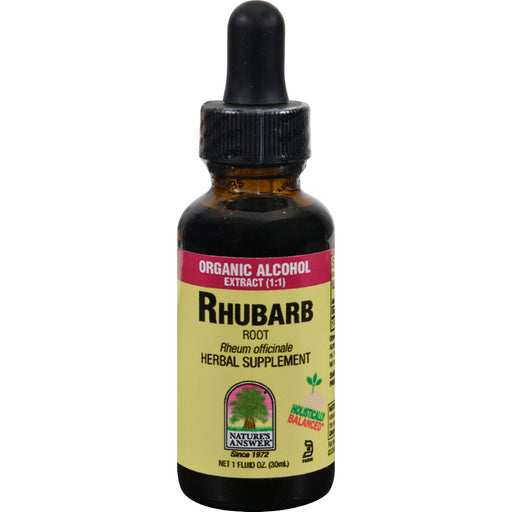 Nature's Answer - Rhubarb Root - 1 Fl Oz